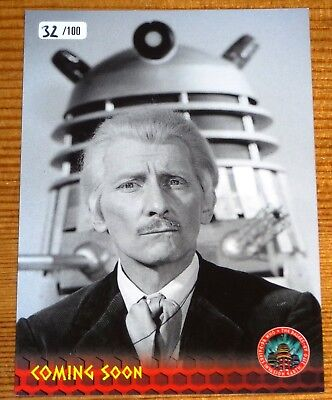 Dr Who 1960's Dalek Movies Exclusive RTP1 Promo Card 32/100 by Unstoppable