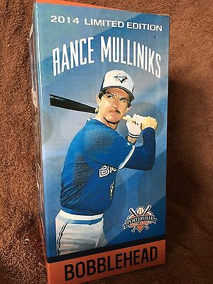2014 Rance Mulliniks Baseball Bobble Head (Toronto Blue Jays)