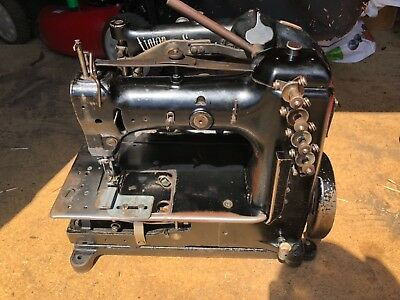 Union Special 51500LZ Double Needle Chainstitch Puller Sewing Machine