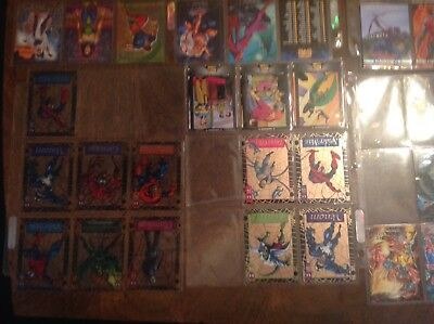 Lot Of Over 550 Marvel Trading Cards And More