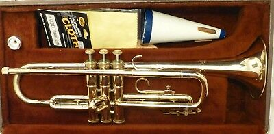 FE Olds & Sons Ambassador Fullerton CA STUDENT Trumpet GREAT CONDITION