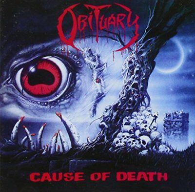 Obituary - Cause of Death (Reissue) - CD - New