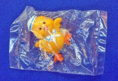 BUY1&GET1@50%~Russ PIN Easter MIP DUCK in SAILOR HAT Scarf Vtg Holiday Brooch