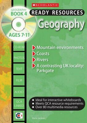 Geography Book 4 and CD: Bk. 4 (Ready ... by Jackson, Elaine Mixed media product