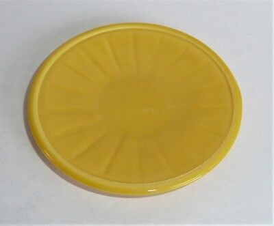 Akro Agate Small Interior Panel Yellow Plate ~ Child Tea Set ~ Several Available