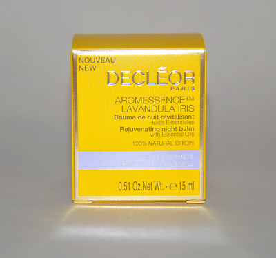 Decleor Aromessence Lavandula Iris Rejuvenating Night Balm 15ml/0.51oz. New