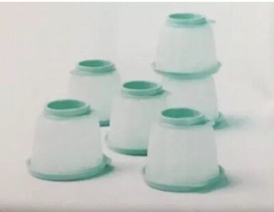 BRAND NEW Tupperware Jel-ettes  Small Jelly Moulds Jelettes Mint