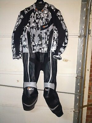 Leather Motorcycle Racing Suit Drag bike flat track Comet Gsxr cbr zx R1 r6 busa