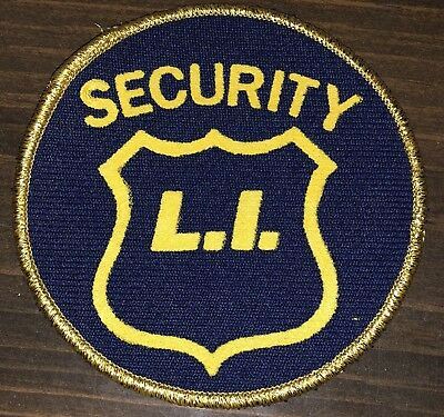Long Island Security Shoulder Patch New York Free Shipping