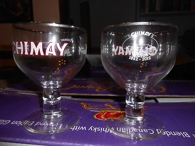Chimay Glass Set of 2