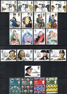 1982 Commemorative Year Used Set of 8 Issues