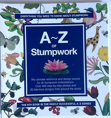 A - Z of Stumpwork  ~ Country Bumpkin  Excellent Condition