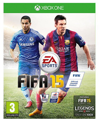 Xbox One - FIFA 15 (2015) **New & Sealed** Official UK Stock (REF: 1819) XB1