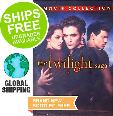 Twilight Complete 5 Movie Collection Box Set (Blu-Ray 2018) NEW, Vampire