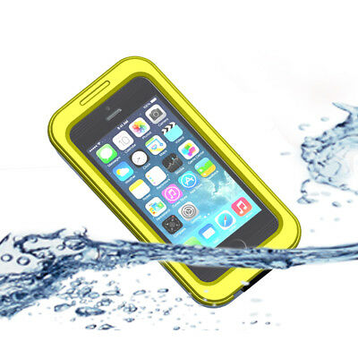 Waterproof Shockproof Hybrid Rubber Case Cover for iPhone 5 5S 5C 4 4S