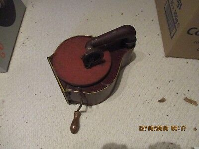 A early tinplate small Gramophone Phonograph working with needles & records