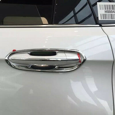 For Ford Edge 2015 2016 2017 Chrome Side Door Handle Bowl Cup Cover Trim Sticker