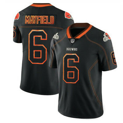 Cleveland Browns Home Game NFL Jersey Baker Mayfield 6