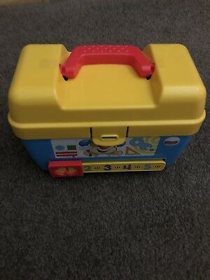 Fisher Price Laugh N Learn Toolbox For Baby Toddler Toy