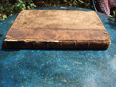 Antique Book 250 year old The Book of Martyrs by John Foxe(Rare 1760/61 edition)