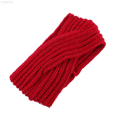 EE29 Warm Cap Elastic Outdoor Knitted Turban Soft Crochet Women Hair Hoop
