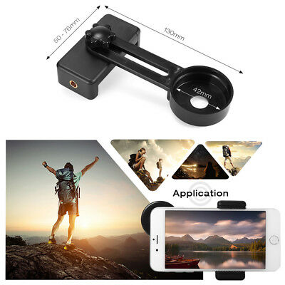 Mini Binocular Monocular Telescope Clip Fix Phone Camera Adapter Bracket Mount