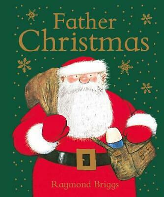 Father Christmas by Raymond Briggs Hardcover Book Free Shipping!
