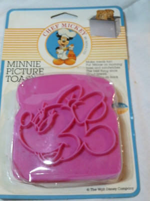 NEW CHEF MICKEY WALT DISNEY MINNIE  PICTURE TOAST Sealed Hoan Co.
