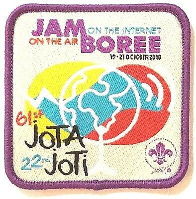 2018 JOTA JOTI World Scout Badge, Scouts Jamboree on the Air & Internet, Radio