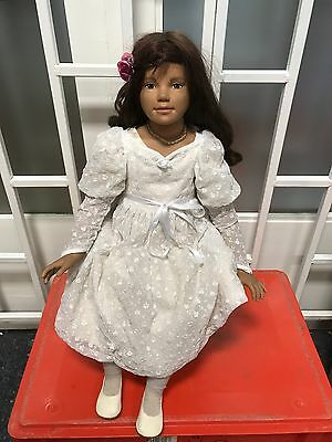 Top Zustand Choice Materials Annette Himstedt Puppe Kima 70 Cm Dolls Art Dolls-ooak