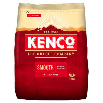 Kenco Smooth Instant Coffee Refill Bag 650g 924778
