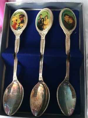 Prince Charles Diana, Queen Elizabeth Royal Family, Fergie Souvenir Spoon Set