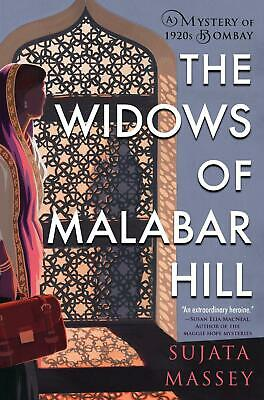 The Widows Of Malabar Hill by Sujata Massey Paperback Book Free Shipping!