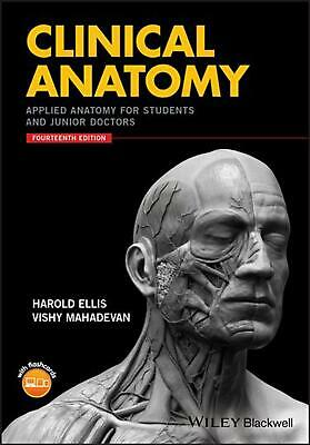 Clinical Anatomy: Applied Anatomy for Students and Junior Doctors, 14th Edition