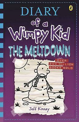 Diary of a Wimpy Kid 13: The Meltdown by Jeff Kinney Paperback Book Free Shippin