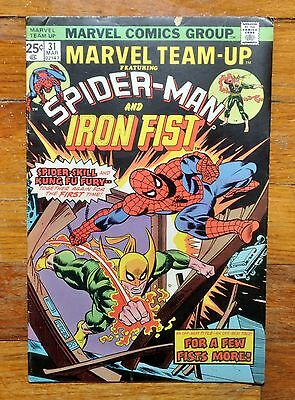 Marvel Team-Up Comics Spider-Man & Iron Fist  (Vol. 1, No. 31 March 1975)