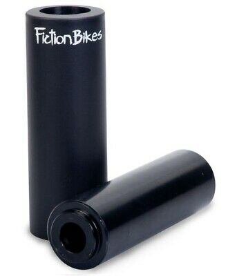 Fiction Troop Stahl/Thermalite Freestyle BMX Peg schwarz Park Fahrad Bike