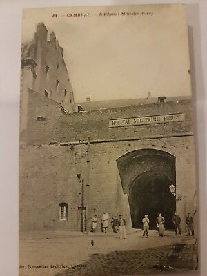Cpa Cambrai 59 Hopital Militaire Percy