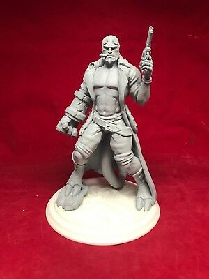 Hellboy Resin Fan Art Garage Figure kit 1/9 scale