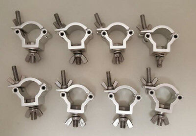 Pack of 8 Stage Lighting Clamps  for Global Truss O Clamps  Fit 32-35mm F24 F23