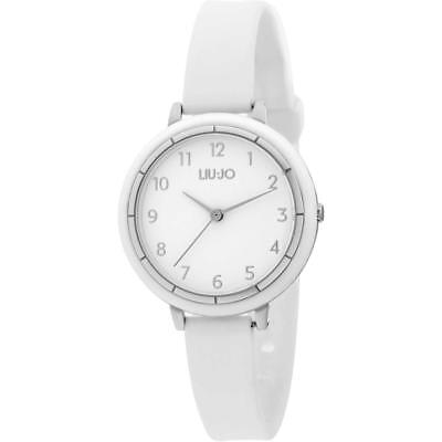 Orologio Donna LIU JO Luxury SPORTY TLJ1257 Silicone Bianco NEW