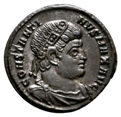 CONSTANTINE THE GREAT (330-335 AD) Ae3 Follis, Trier #RB 646