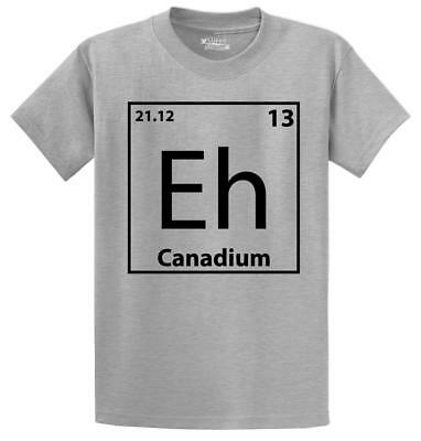 9813a5cffee0 THE EH TEAM Funny T Shirt Maple Leaf Canadian Canada Unisex Tee S ...