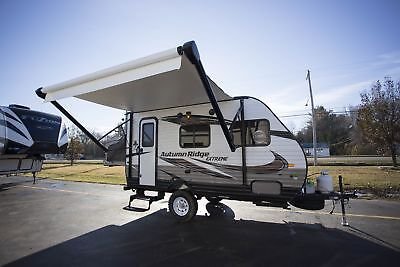 New Travel Trailer Camper RV Autumn Ridge 15RB Rear Bed Full Bath