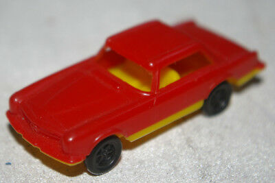 Penny Toy, Plastic Mercedes 280 SL Coupe, scala 1 : 72, Made in Italy