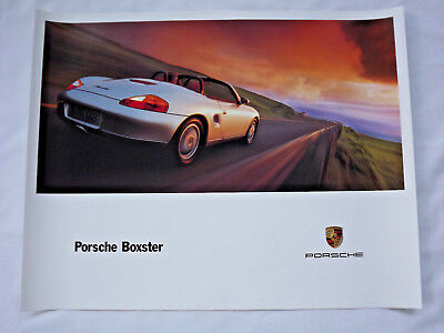 LARGE Porsche Boxster Showroom Advertising Original Poster