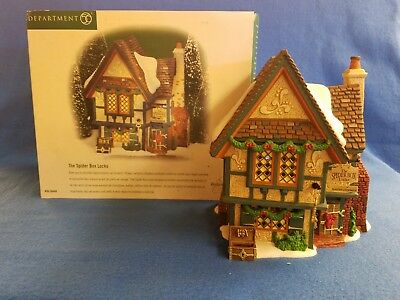 Dept 56 Dickens Village, The Spider Box Locks, 56.58448, new, box included