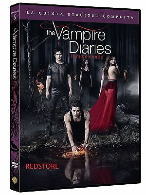 The Vampire Diaries - Serie TV - 5^ Stagione - Cofanetto Con 5 Dvd - Nuovo