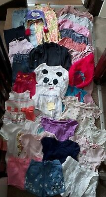 Massive Bundle Of Girls Clothes 4-5years# 274 H&M NEXT GEORGE TROLLS and others