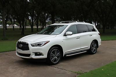 2018 INFINITI QX60 One Owner Perfect Carfax MSRP $57435 One Owner Perfect Carfax Deluxe Tech Pkg Premium Plus Pkg Premium Pkg $57435